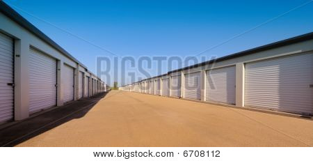 Temporary storage facility