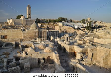 Aleppo - view from citadel