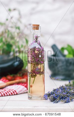 Lavender Vinegar