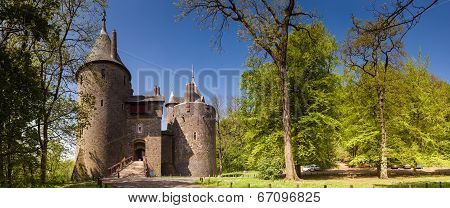 Castell Coch In South Wales.