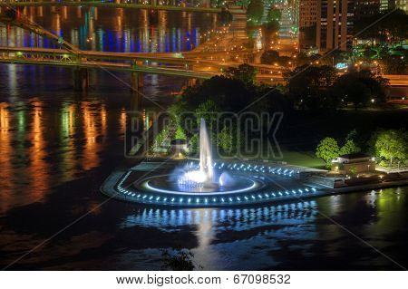 Point Fountain, Pittsburgh
