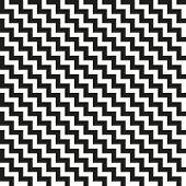 Chevron Zigzag black-white monochrome diagonal pattern. Seamless texture poster