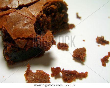 Bitten Chocolate Brownie
