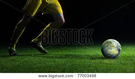 World Cup Kick Off.