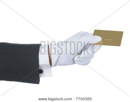 Butler With Gold Card