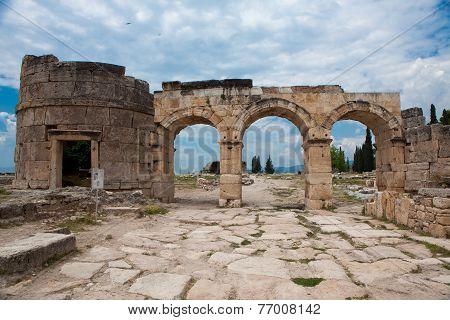 Domitian Gate In Hierapolis