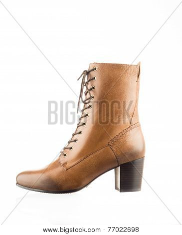 Fashionable womans boot