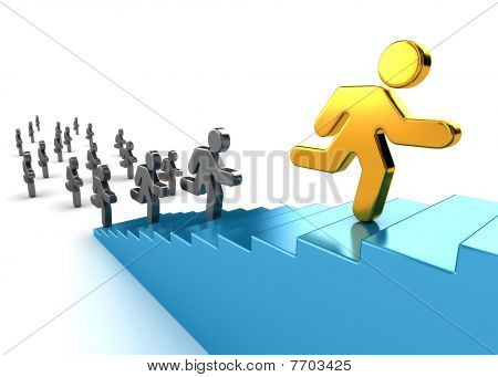 Climb Up To Success