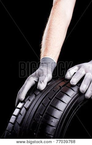 Tire In Service