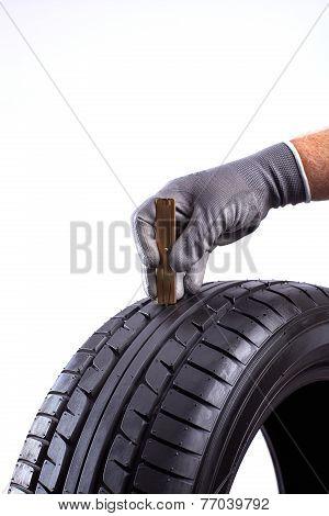 Tread Depth From Tire