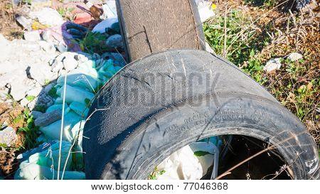 Trash In Shantytown