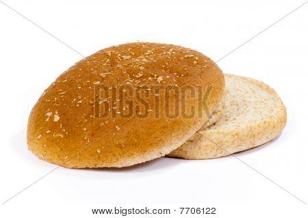 Isolated Hamburger Bun