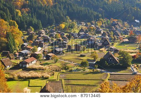 Village in Shirakawago