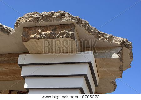 Fragment Of Reconstruction Of The Minoan Palace