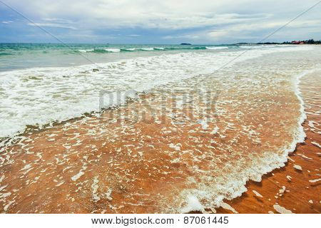Shallow Water With Little Sea Waves