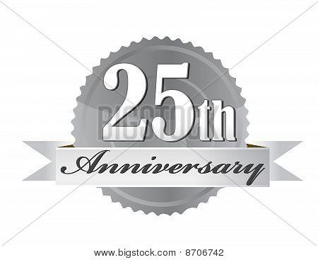 25th Anniversary Seal