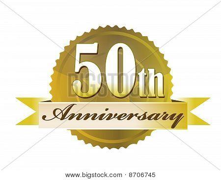 50th Anniversary Seal