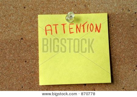 Attention Postit