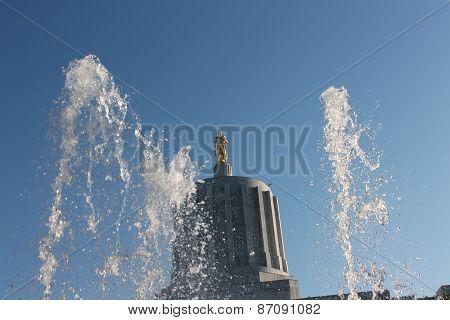 Oregon State Fountains