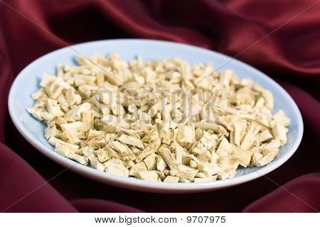 Tea of Root of Marshmallow- herbal Medicine