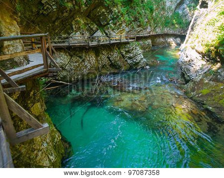 Vintgar Gorge