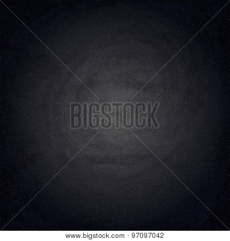 Black Blank Chalkboard Background