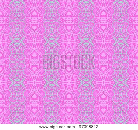 Seamless pattern pink turquoise