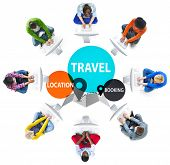 Travel Location Booking Destination Trip Adventure Concept poster