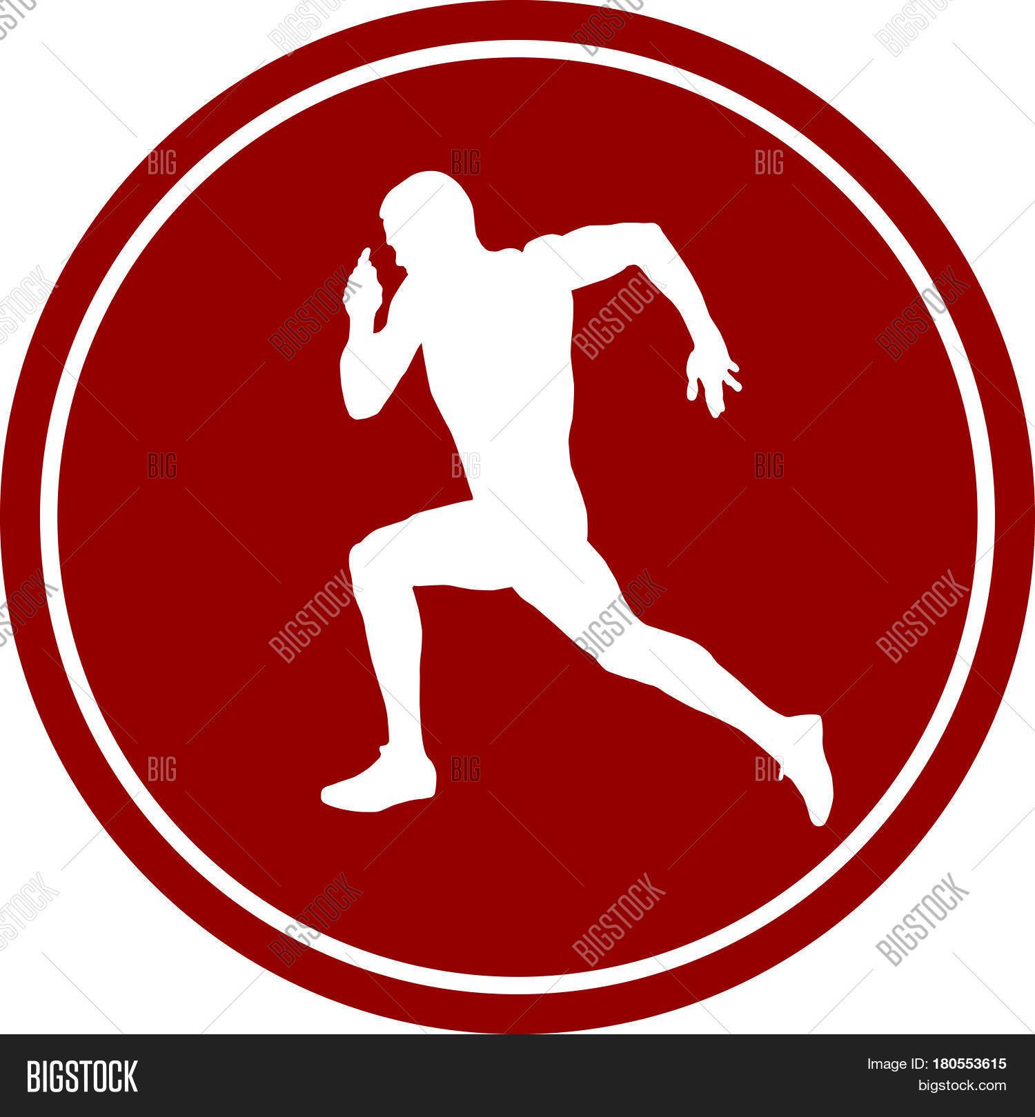 Icon Running Sprint Vector Photo Free Trial Bigstock
