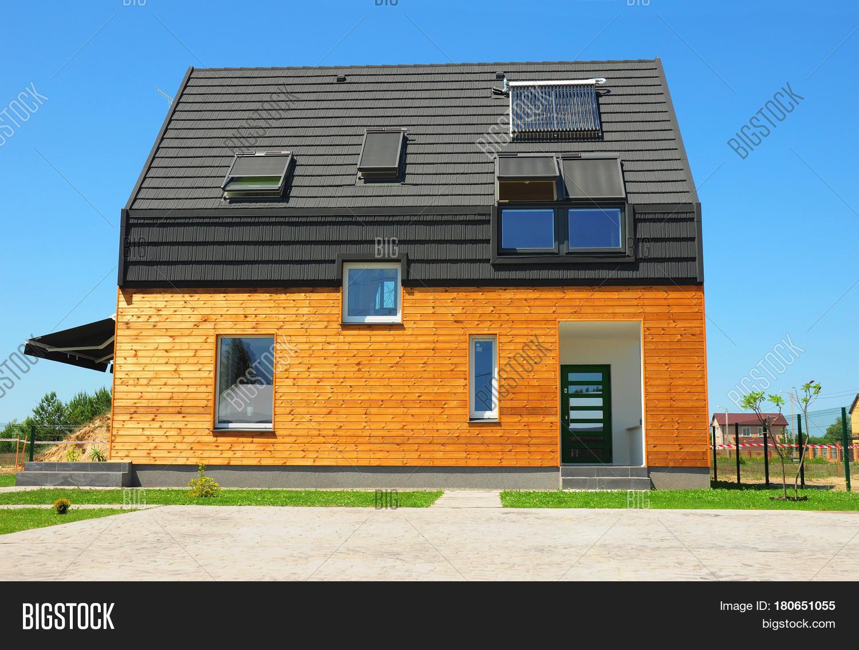 modern house exterior design new image photo bigstock
