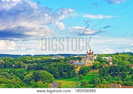 Churches Of Ascension And Of Sacred Heart Of Jesus Vilnius
