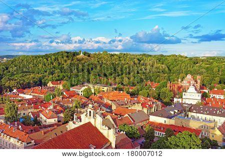 Churches Of Saint Anne And Saint Bernard Of Vilnius