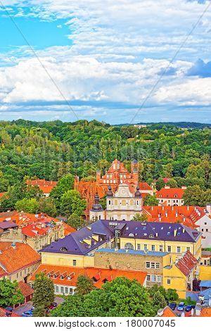 Churches Of St Anne And Saint Bernard Vilnius