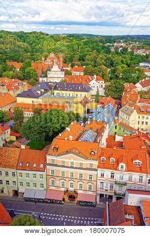 Churches Of St Anne And Saint Bernard Of Vilnius