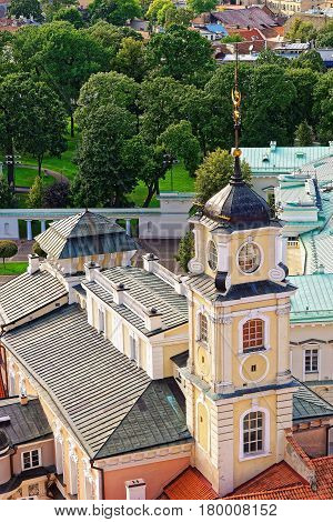 Steeple of Observatory of Vilnius University Vilnius Lithuania