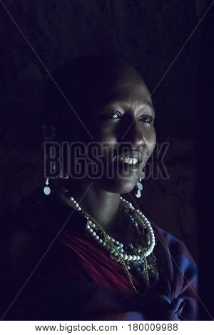 Maasai Chief Wife