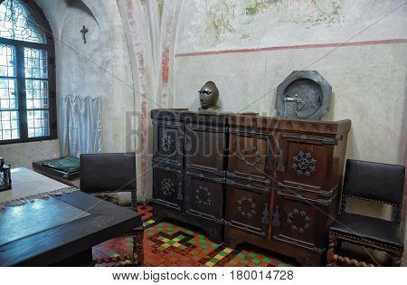 Furniture At Malbork Castle