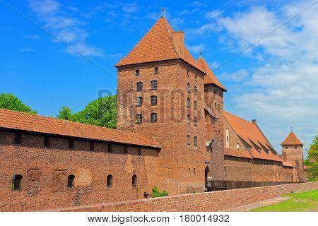 Malbork Castle Pomerania Of Poland