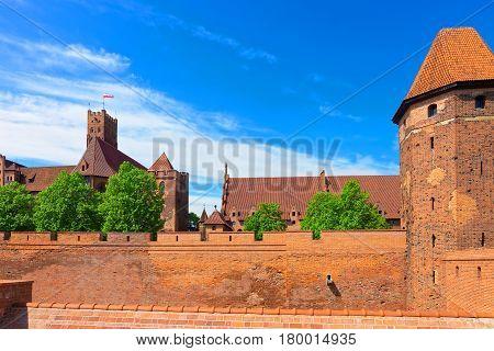 Malbork Castle Pomerania In Poland