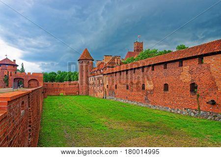 Malbork Castle In Pomerania In Poland