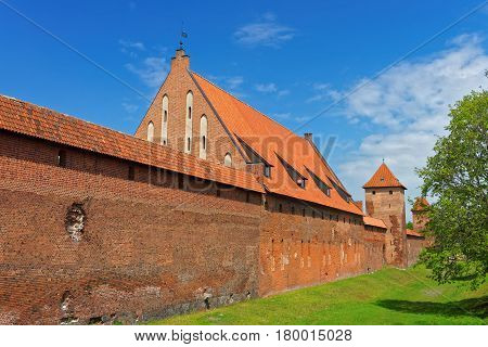 Malbork Castle Of Pomerania Poland