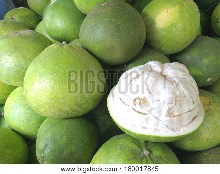 Pomelo fruit background