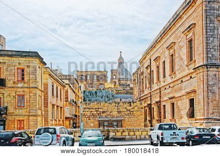 Street View To Basilica Of Our Lady Mount Carmel Valletta