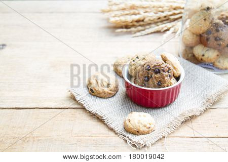 Cookie In Red Cup