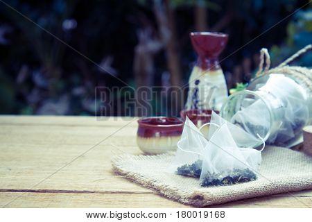 Dry Tea Leaves