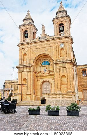 Church Of Our Lady Of Pompei Marsaxlokk