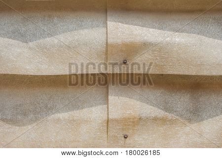Abstract or texture of plastic louver of warehouse.