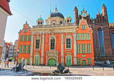 Royal Chapel Of King At St Mary Basilica In Gdansk