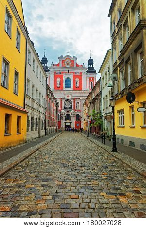 Saint Stanislaus Church At Old Town Of Poznan