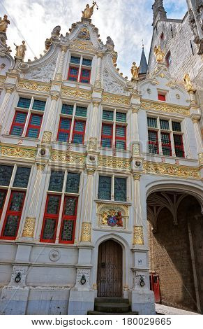 Chambers On Castle Square In Brugge